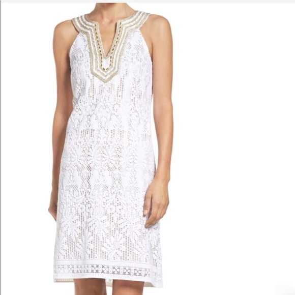 Lilly Pulitzer Dresses & Skirts - Lilly Pulitzer Calera Shift Dress NWT 6 White